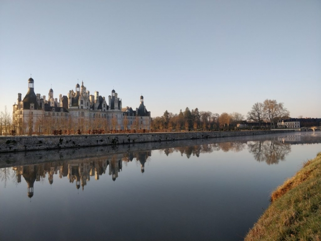Sunrise view 2 @ Chateau de Chambord, France