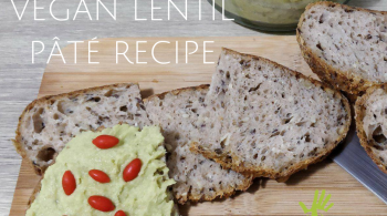 Vegan Lentil Pâté Recipe