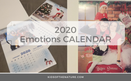 The EMOTIONS CALENDAR: 2020 is waiting for us